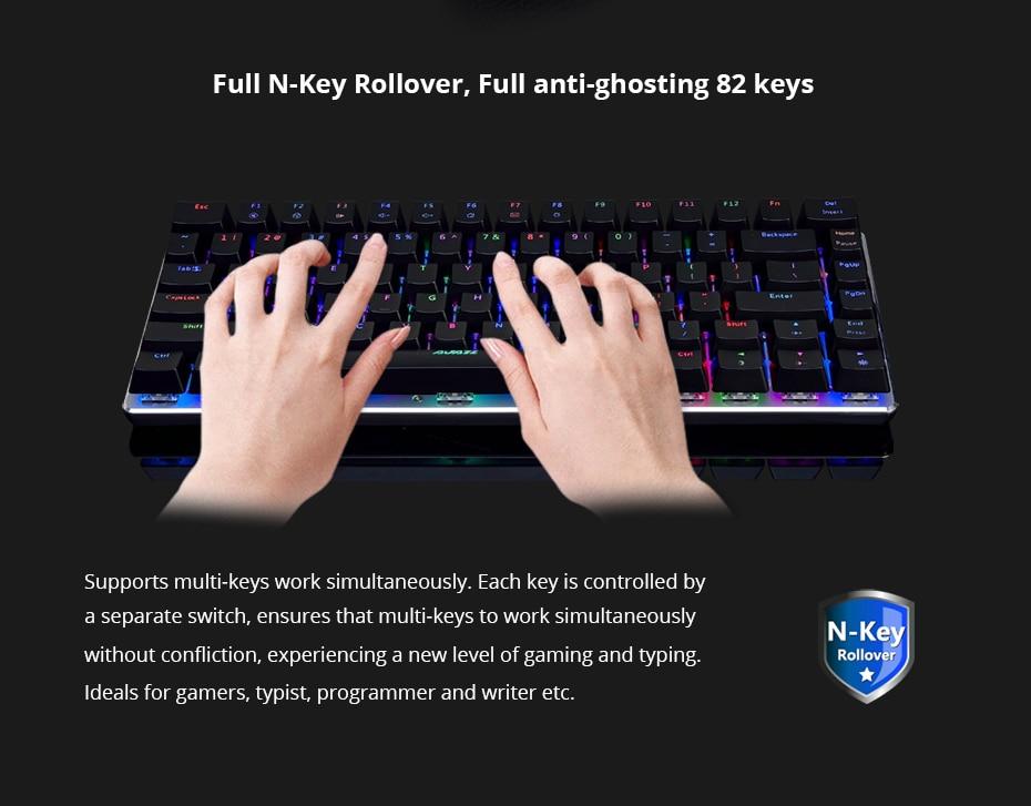 Ajaz mechanische toetsenbord